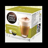 Kavos kapsulės NESCAFE DOLCE GUSTO CAPPUCCINO, 186,4 g