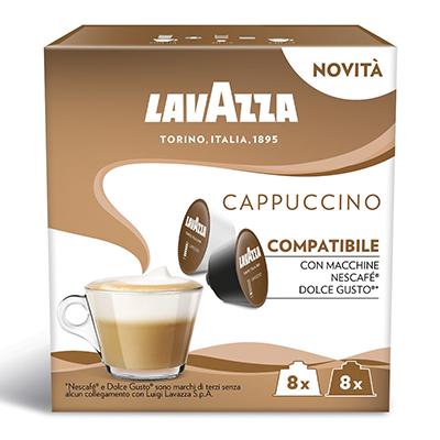 Kavos kapsulės LAVAZZA CAPPUCCINO, 200 g